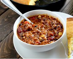 Game Day Turkey and Veggie Chili