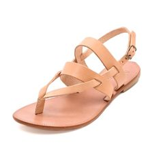 Rank & Style Top Ten Lists | Joie A La Plage Positano Flat Sandals #rankandstyle