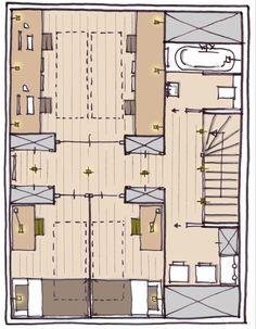 Cedar Homes, Attic Renovation, Home Interior Design, Laundry Room, Master Bedroom, Kids Room, Floor Plans, Flooring, Projects