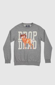 Billy Crewneck, Drop Dead Clothing  #ddpintownin