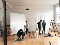 WEBSTA @ theportlandstudio - Shoot days at the studio!