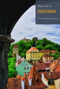 Sighisoara, the most colorful city in Romania and the heart of Transylvania. Read about all there is to do in Sighisoara in this travel guide. Romania Travel, Adventures Abroad, The Beautiful Country, European Destination, Most Beautiful Cities, Best Cities, Solo Travel, Travel Photos, Travel Destinations