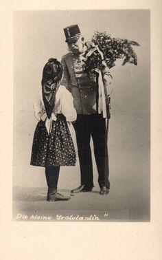 """""""Die kleine Gratulantin"""" Franz Josef I., Kaiser von Österreich & König von Ungarn, Emperor of Austria, King of Hungary   by Miss Mertens"""