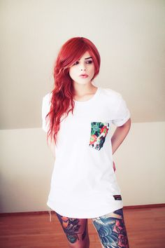the most beautiful redhead girl i've even see <3