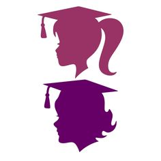 Graduation Class of 2017 - 2020 Cuttable Design Embroidery Designs, Apex Embroidery, Girl Silhouette, Silhouette Cameo, Graduation Silhouette, Graduation Pictures, Graduation Ideas, Arabic Art, Scan And Cut