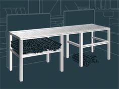 Industrial Aluminum Furniture