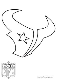 free printable nfl team logo coloring pages | 25 Best NFL coloring pages images | Nfl logo, Football ...
