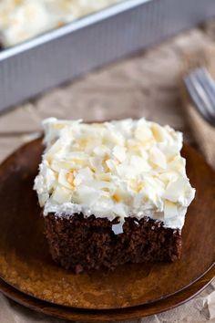 Chocolate Coconut Sheet Cake Recipe