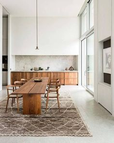 Modern apartment design done perfectly. We will be using this cabinetry as inspo… Modern apartment design done perfectly. We will be using this cabinetry as inspo for an upcoming client project. Home Kitchens, Cheap Home Decor, Kitchen Design, Modern Apartment Design, Dining Room Inspiration, Apartment Design, Kitchen Interior, Home Decor, House Interior