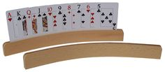 Curved Wooden Playing Card HolderPurchase