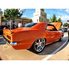 1969 Chevrolet Camaro Z/28 orange..Re-pin...Brought to you by #CarInsurance at #HouseofInsurance in Eugene, Oregon