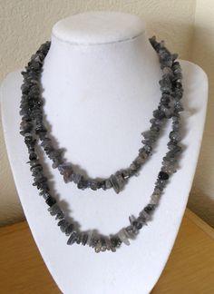 Genuine Iolite endless strand chip bead by CreationsbyMaryEllen, $9.99
