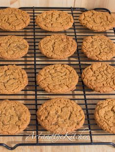 (Canada) Fancy Molasses Coconut Cookies - crispy on the outside chewy on the inside!