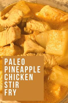 This easy paleo recipe is perfect for meal prepping! It's a family friendly paleo recipe everyone is sure to love! Paleo meal prep on a budget. Paleo meal prep for beginners. Paleo Chicken Recipes, Healthy Recipes On A Budget, Paleo Recipes Easy, Healthy Food Choices, Clean Eating Recipes, Paleo Meal Prep, Easy Meal Prep, Pineapple Chicken Stir Fry, Paleo Stir Fry