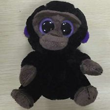 TY Beanie Boo NEW with MINT TAGS ROMEO the GORILLA KEY CLIP