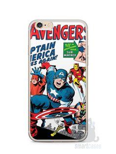 Capa Iphone 6/S Plus The Avengers - SmartCases - Acessórios para celulares e tablets :)