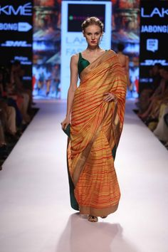 Lakmé Fashion Week – MANDIRA BEDI AT LFW SR 2015