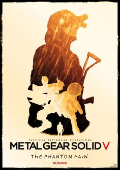 metal gear solid V phantom pain poster by Katecheta.deviantart.com on @DeviantArt