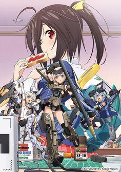 TV Anime 'Frame Arms Girl'   Poster