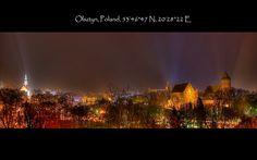 Olsztyn Illuminated | Flickr - Photo Sharing!