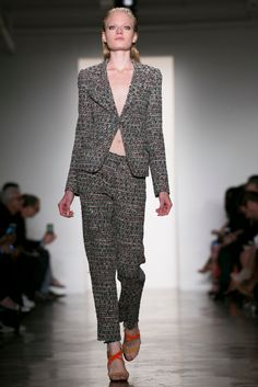 A look from the Sophie Theallet Spring 2015 RTW collection.