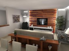 Salas de TV: dicas de decoração para home theater de Revista Viva Decora - 13931 no Viva Decora