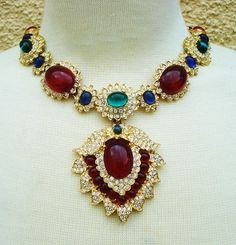 Showstopper Necklace  by Kenneth Jay Lane for Jackie O by bogigi, $1400.00...Beautiful.  B.