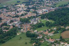 Photo aérienne de : La Rochefoucauld - Charente (16)