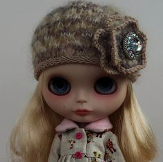 Nonna Hat for Blythe dolls