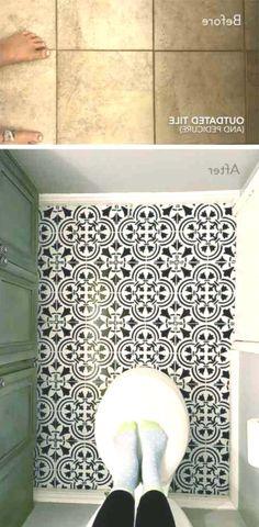 바닥 타일이 아프십니까? 당신은 그것을 페인트해야합니다! Tile Floor, Flooring, Texture, Crafts, Surface Finish, Manualidades, Tile Flooring, Wood Flooring, Handmade Crafts