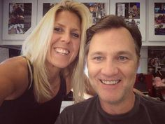 with the Make-up lady for Extant David Morrissey, The Make, Actors, Lady, Actor