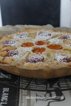 tarte amandine aux fruits d'été