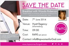 This June join TWFG as we host a Business Breakfast with Wanda Roberson.