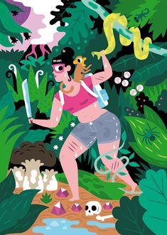 Tapir und Klotz - Till Hafenbrak Illustration