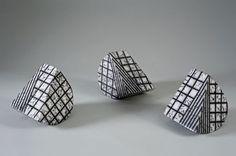 Simcha Even-Chen Ceramic Sculptures. Illusion