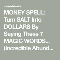 Powerful Money Spells, Money Spells That Work, Spells That Really Work, Love Spell That Work, Real Magic Spells, Spells For Beginners, Hoodoo Spells, Luck Spells, Money Magic