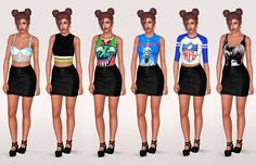 Artsims tops - Seperated • 18 tops • Custom thumbnails • Enabled for maternity • Clothes by artsims Thanks to artsims for letting me seperate his clothes! Download | Package only More super important...