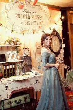 My wedding gown