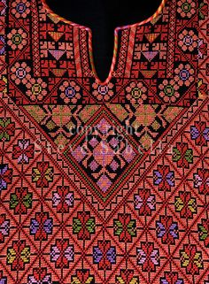 Close Ups of Palestinian Traditional Costumes copy right steve sabella