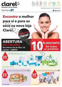 Antevisão Folheto CLAREL Extra Aberturas de 7 a 13 julho - http://parapoupar.com/antevisao-folheto-clarel-extra-aberturas-de-7-a-13-julho/