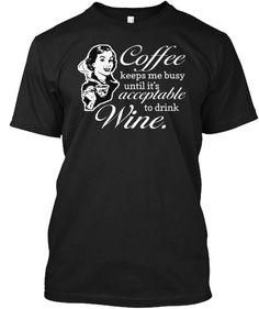 Ltd. Edition Coffee Keeps Me Busy Tee