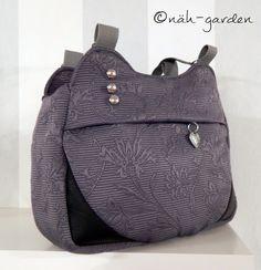 näh-garden : Summer June aus Gardinen #Handtaschen