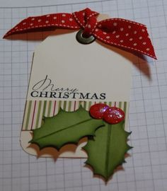 The 12 Days of Christmas - crafty ideas for your perfect Christmas. - Stampin Up Demonstrator Michelle Last - Amazing Diy Gifts Christmas Gift Wrapping, Christmas Gift Tags, Xmas Cards, Handmade Christmas, Gift Cards, Holiday Cards, Christmas Paper Crafts, Noel Christmas, All Things Christmas