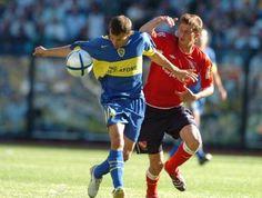10/12/2005. Apertura 05. Boca 2-Independiente 0. Palacio, el MVP de Boca  Palacio superstar. En un Boca que golpea las puertas del título, Rodrigo es el que más