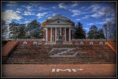 The UVA Rotunda - never ceases to amaze!