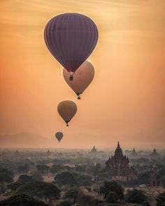 Myanmar um dos países que ainda preservam fortemente sua cultura está sendo cada vez mais assediado por turistas que visitam o Sudeste Asiático   O Eduardo nosso colunista e autor do @cidadaniamundial acabou de publicar uma matéria no blog sobre como organizar um roteiro de 6 ou 9 dias entre as principais cidades do país: Yangon Mandalay e Bagan!  Essa última inclusive é onde estão os famosos Templos de Bagan e se pode fazer um dos mais belos voos de balão do mundo…