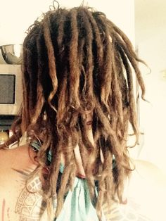 Thick Dreads, Short Dreads, Dreadlocks Girl, Locs, Hairdos, Messy Hairstyles, Dreads Styles, Hair Styles, Female Dreads