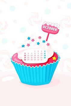 October calendar sweet