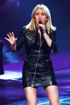 Singer Ellie Goulding totally wowed the audience with her performance as she performed at The Voice of Holland in Hilversum on December 18, 2015.…