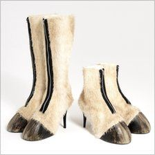 Faux Horse Hoof Shoes - Perfect for your draenei costume for Blizzcon!